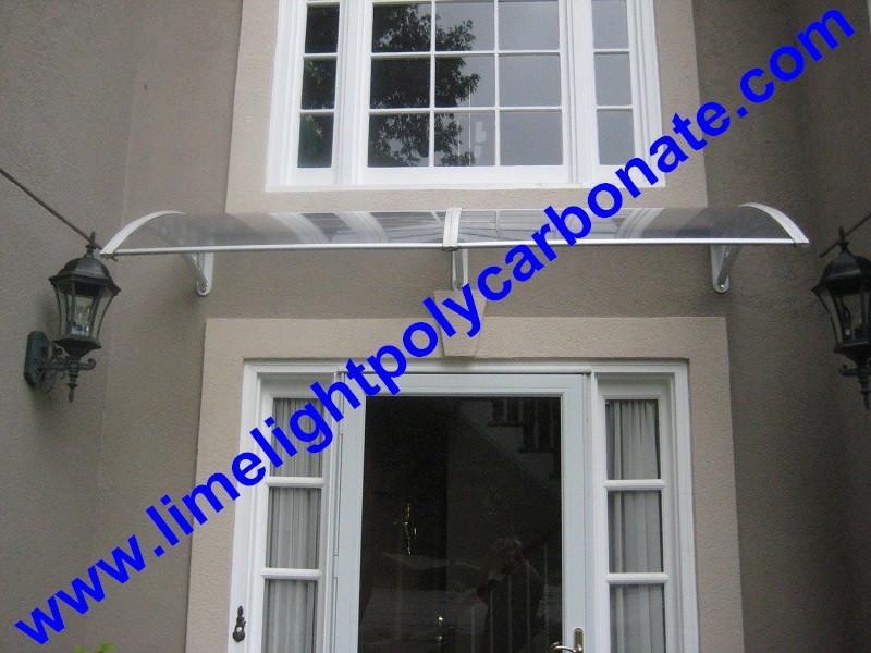 polycarbonate awning DIY awning door canopy window awning shelter rain shelter 3