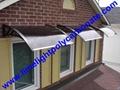 polycarbonate awning DIY awning door canopy window awning shelter rain shelter 7