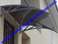 polycarbonate awning DIY awning door canopy window awning shelter rain shelter