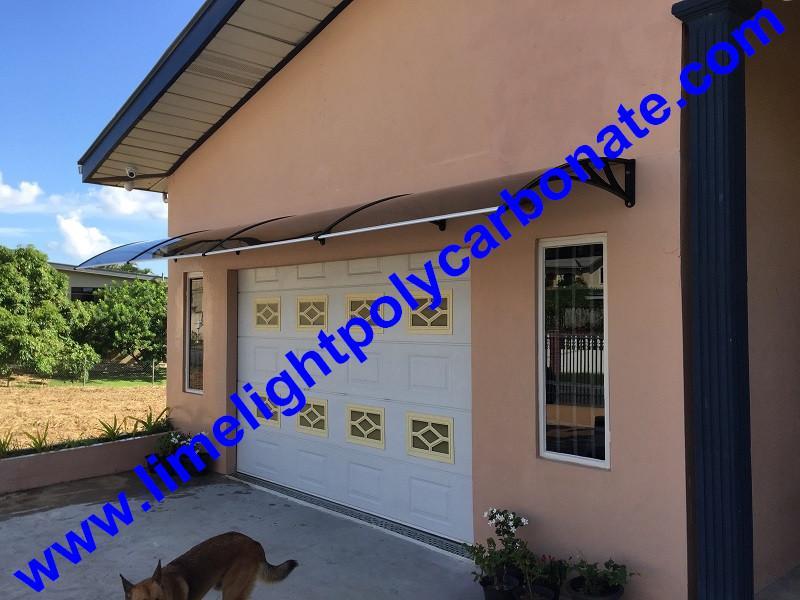 polycarbonate awning DIY awning door canopy window awning shelter rain shelter 11