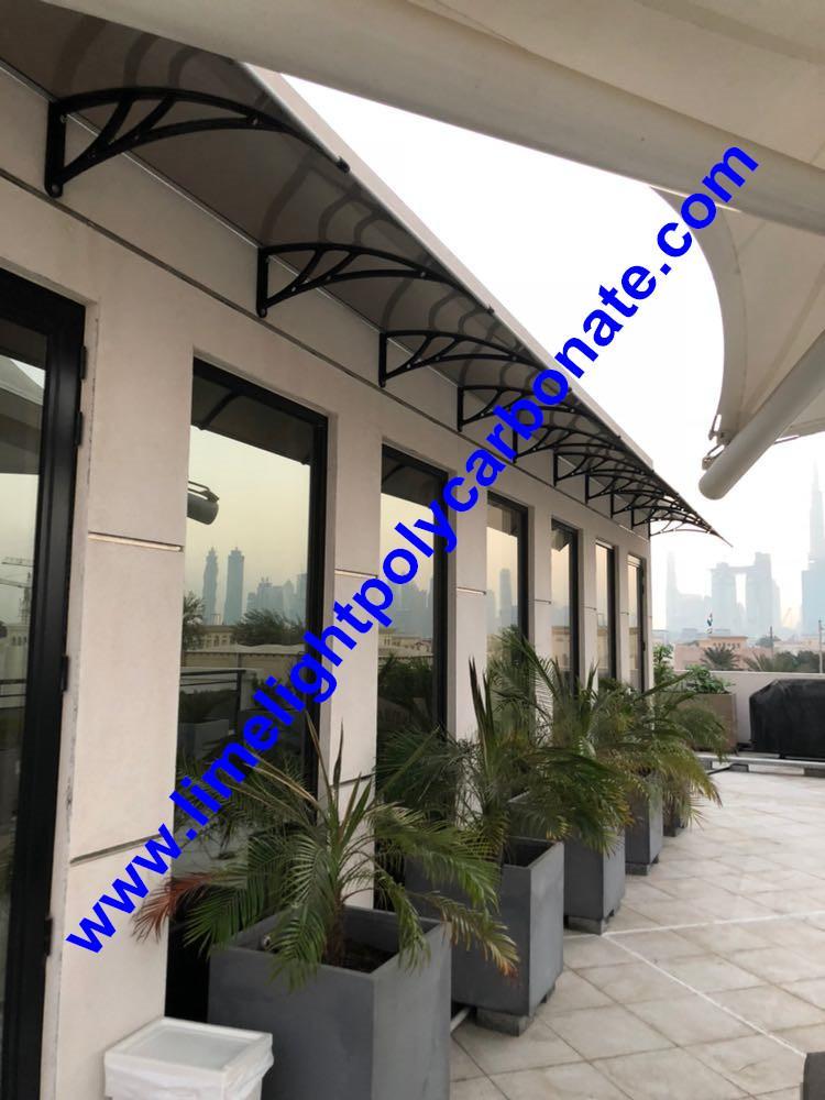 polycarbonate awning DIY awning door canopy window awning shelter rain shelter 12