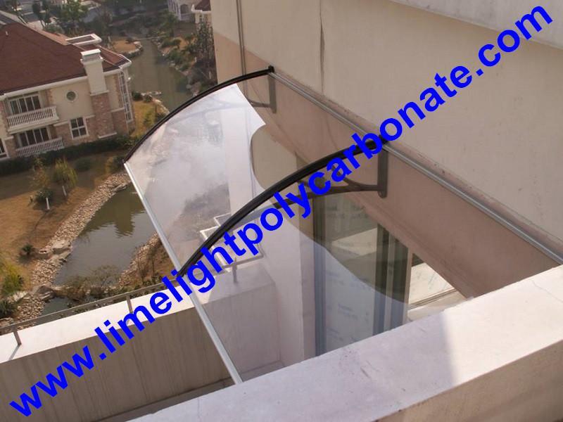 polycarbonate awning DIY awning door canopy window awning shelter rain shelter 13