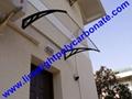 polycarbonate awning DIY awning door canopy window awning shelter rain shelter 14
