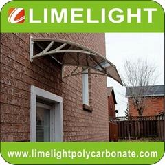 polycarbonate awning DIY canopy door awning window canopy sun awning rain canopy