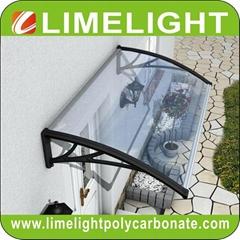 Polycarbonate DIY awning door canopy window awning polycarbonate canopy sunshade
