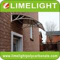 Polycarbonate DIY awning door canopy window awning polycarbonate awning DIY shed