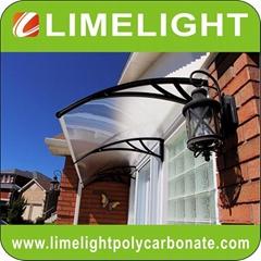 Outdoor awning DIY canopy PC awning door canopy window awning DIY kits canopy
