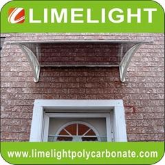 Door awning DIY canopy PC awning door canopy window awning polycarbonate awning