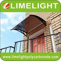 Aluminium awning DIY canopy door awning window canopy DIY polycarbonate awning