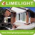 polycarbonate awning DIY awning door canopy window awning shelter rain shelter