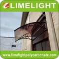 Outdoor awning canopy polycarbonate