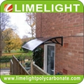 DIY PC awning canopy polycarbonate