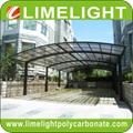 M shape carport aluminium carport