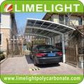 aluminium frame carport garden carport