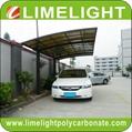 aluminium frame polycarbonate carport modern mini carport aluminium carport tent 1