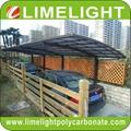 aluminium frame polycarbonate carport modern mini carport aluminium carport tent 2