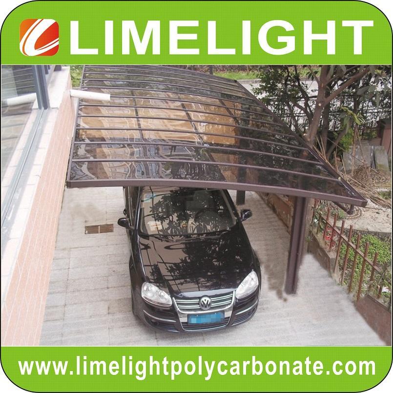 aluminium frame polycarbonate carport modern mini carport aluminium carport tent 5