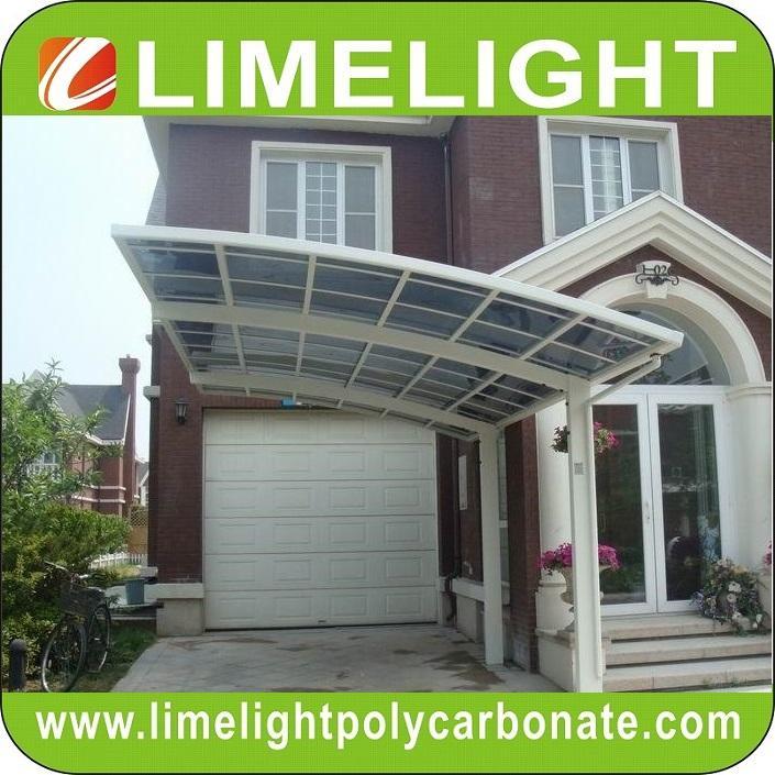 aluminium frame polycarbonate carport modern mini carport aluminium carport tent 6
