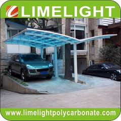Y shape carport aluminium carport polycarbonate carport PC carport garage shade
