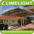 villa carport garage aluminium carport polycarbonate carport PC carport roofing