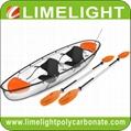 crystal kayak glass canoe polycarbonate