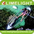 polycarbonate kayak canoe polycarbonate transparent kayak canoe PC clear kayak