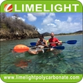 Crystal kayak clear canoe transparent kayak polycarbonate kayak ocean kayak tour