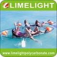double seats clear kayak crystal canoe