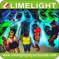 LED light crystal clear kayak