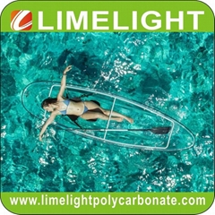 clear kayak transparent kayak crystal kayak clear canoe crystal canoe PC kayak