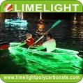 Glass kayak transparent canoe PC clear