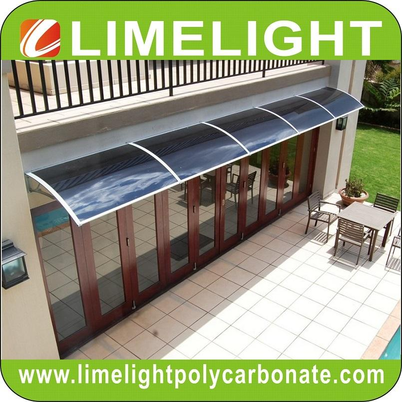 awning canopy DIY awning door canopy window awning polycarbonate awning sunshade 4