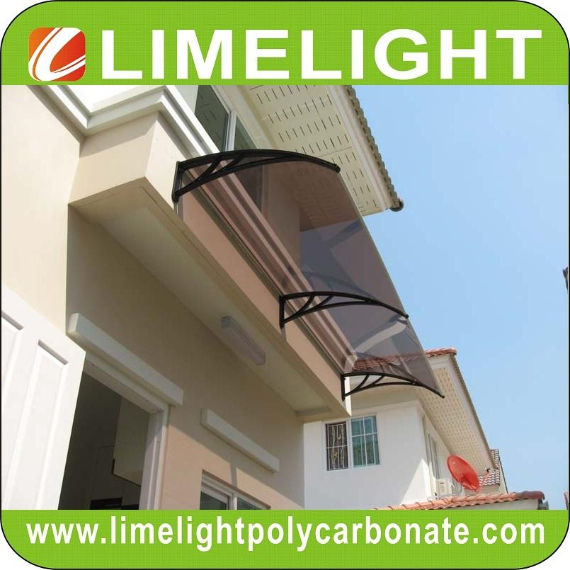 awning canopy DIY awning door canopy window awning polycarbonate awning sunshade 6