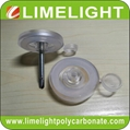 Waterproof polycarbonate Screw Cap with