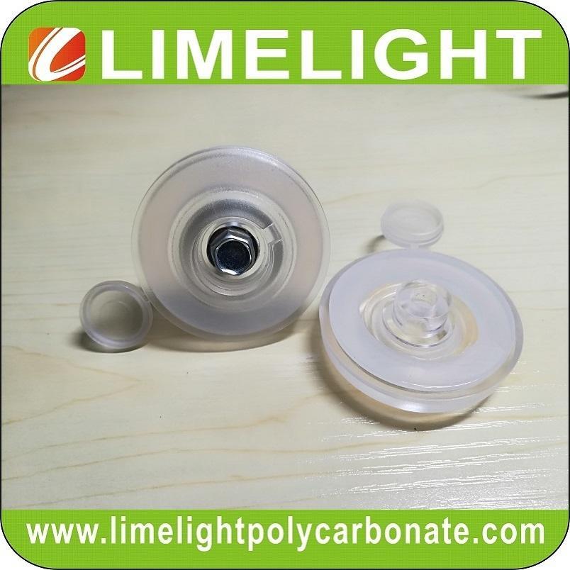 PC screw cap polycarbonate screw washer cap