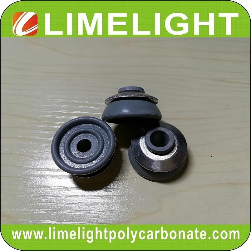 EPDM washer with aluminium cap for corrugated polycarbonate sheet & FRP roofing 3
