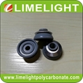 EPDM washer with aluminium cap for corrugated polycarbonate sheet & FRP roofing