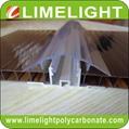 Polycarbonate cap & aluminium base
