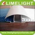 aluminium cap & base profile