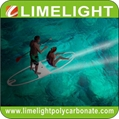 Clear SUP Paddle Board Transparent