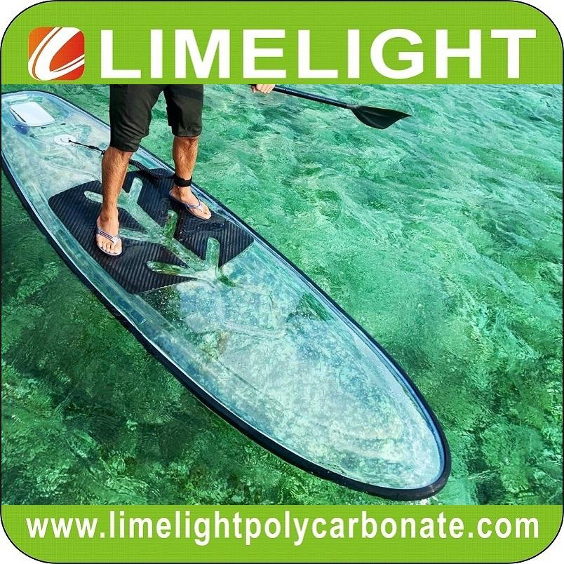 SUP Paddle Board Clear Paddle Board Transparent Paddle Board See Through Paddle Board See Bottom Paddle Board Crystal Paddle Board