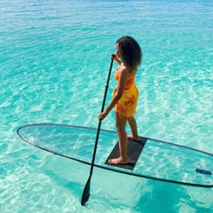 Clear SUP Paddle Board/Transparent SUP