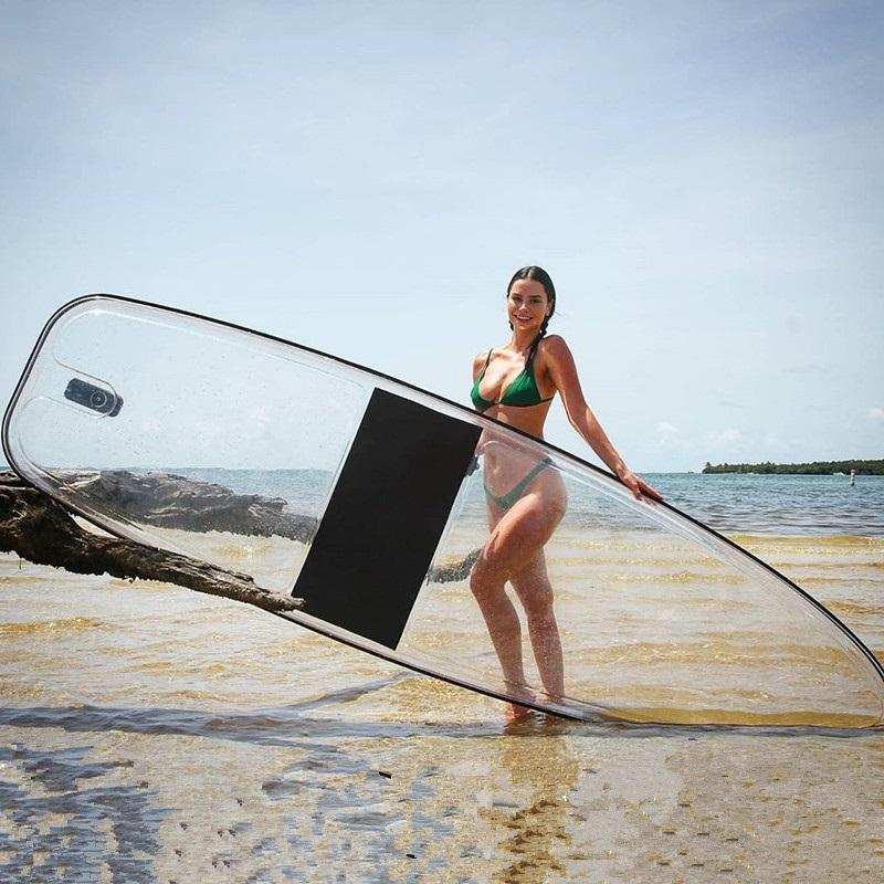 clear SUP, transparent SUP, clear paddle board, clear SUP board, transparent paddle board, transparent SUP board, see through paddle board, clear stand up board, transparent stand up board, clear stand up paddle board, transparent stand up paddle board
