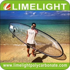 Clear SUP board transparent paddle board clear SUP crystal clear paddle board