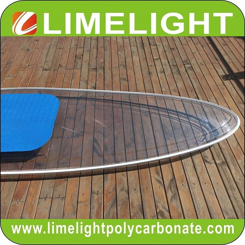 See through paddle board clear SUP paddle board transparent paddle board SUP 3