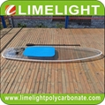 Crystal board clear paddle board clear SUP board transparent paddle board