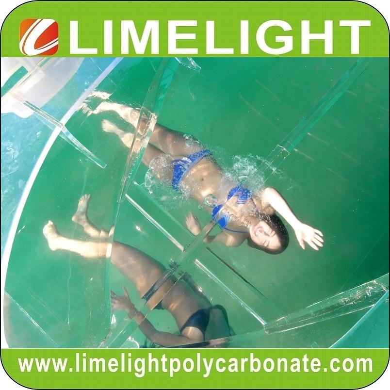 Clear boat transparent boat polycarbonate boat crystal boat see through boat 2
