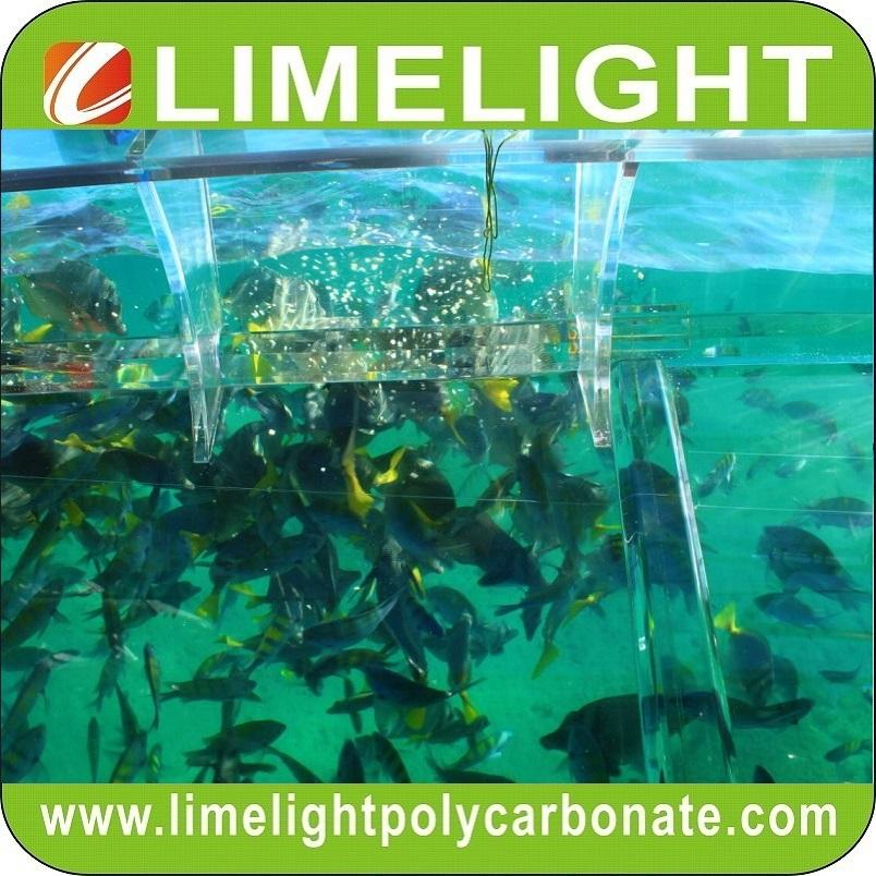 Clear boat transparent boat polycarbonate boat crystal boat see through boat 6