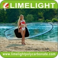 Crystal clear paddle board clear SUP