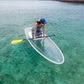 clear paddle board, clear SUP, clear SUP paddle board, clear SUP board, clear stand up board, clear stand up paddle board, see through paddle board, transparent paddle board, transparent SUP board